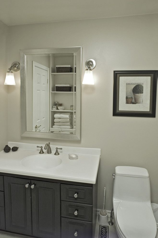 Home Depot Alpharetta for a Contemporary Bathroom with a Wall Decor and Thornhill Reno by Avalon Interiors