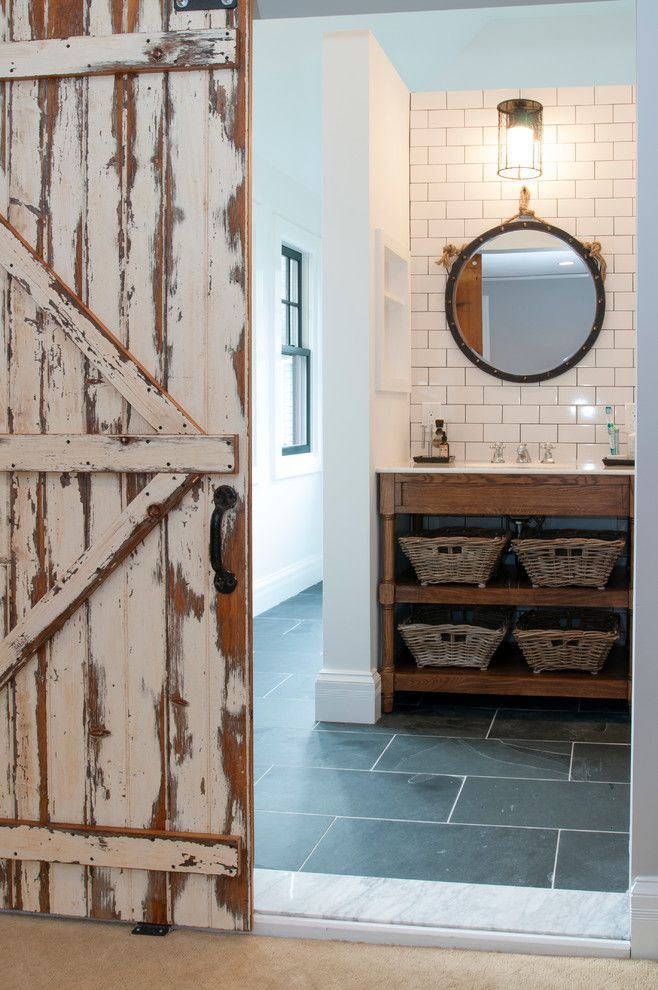 Home Depot Alpharetta for a Rustic Bathroom with a Nautic Sconce and Vintage Meets High End Bathroom by Lemon Grass Interior Architecture