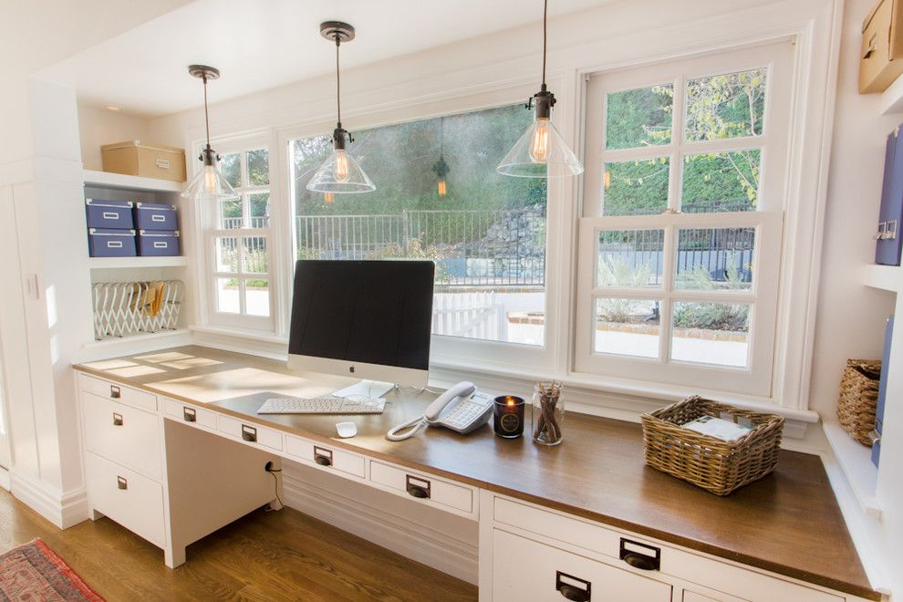 Home Depot Alpharetta for a Traditional Home Office with a Double Hung Window and Iredell St by Thea Home Inc