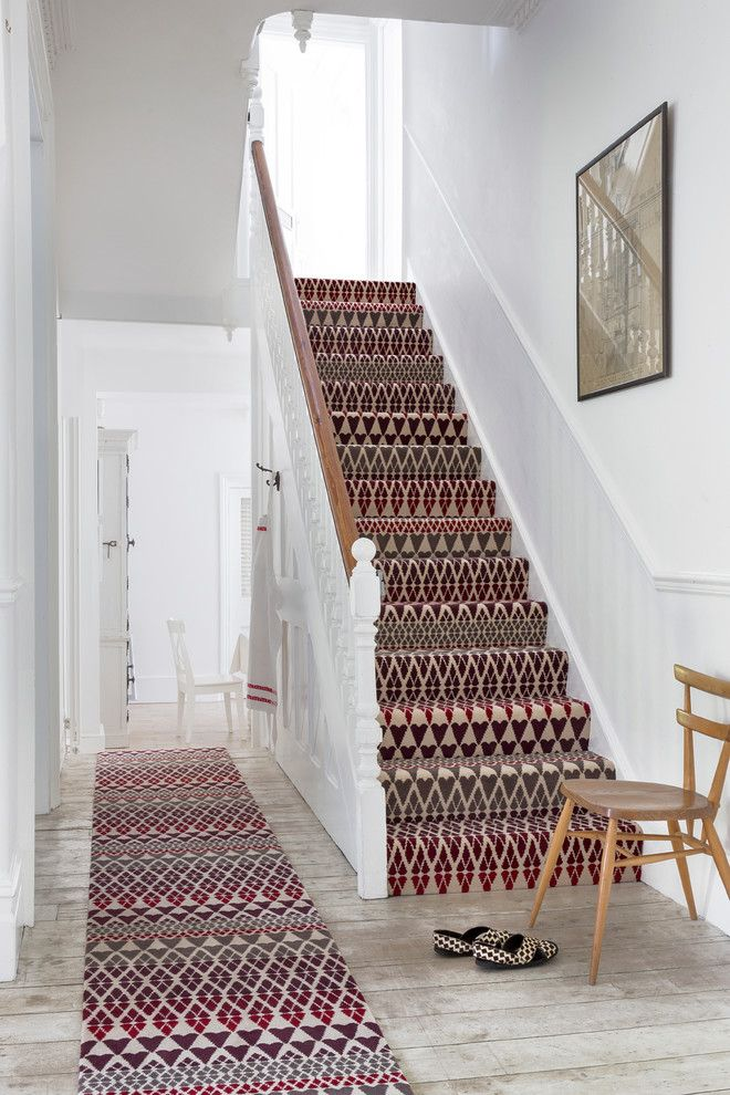 Home Depot Carpet Installation for a Traditional Staircase with a Wall Art and Alternative Flooring   Quirky B Fair Isle Reiko by Alternative Flooring