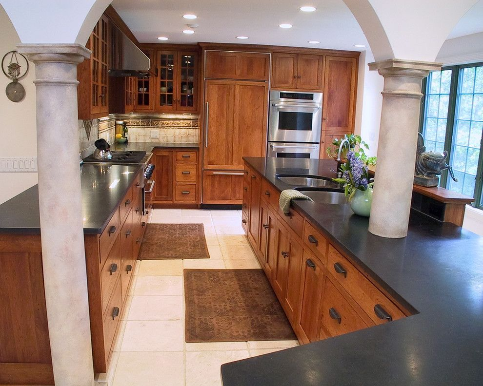 Home Depot Derby Ct for a Mediterranean Kitchen with a Villa and Meditrranean Villa by Dsa Architects