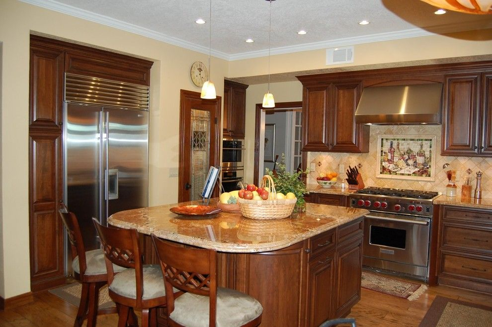 Home Depot Derby Ct for a Traditional Kitchen with a Curved Edge and Cannes Dr by Laurie Burke