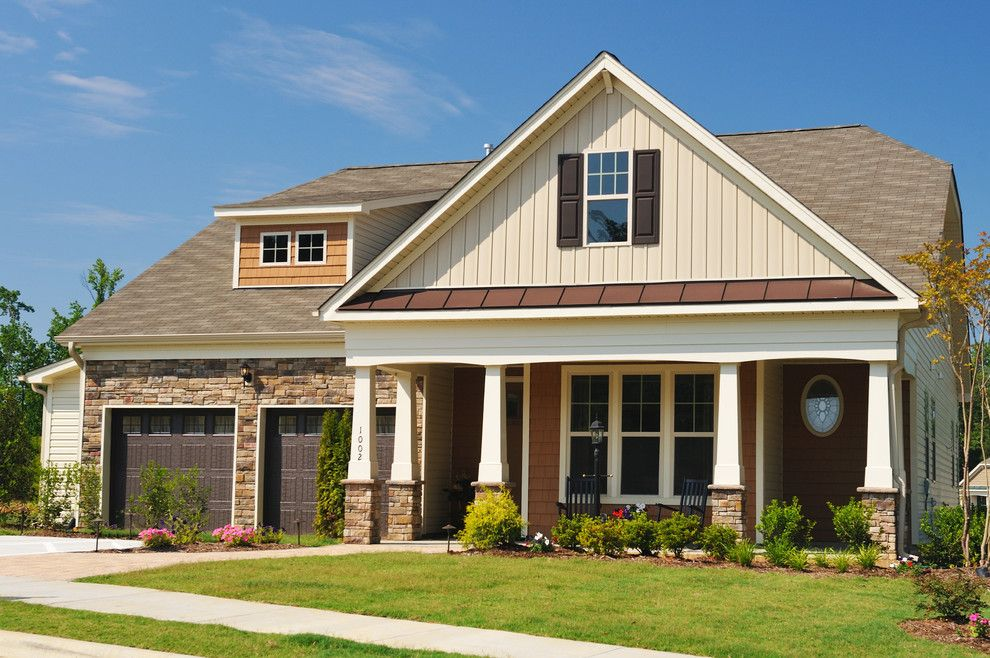 Home Depot Knightdale Nc for a Craftsman Exterior with a Exterior and Single Family Home Exteriors by Terramor Homes