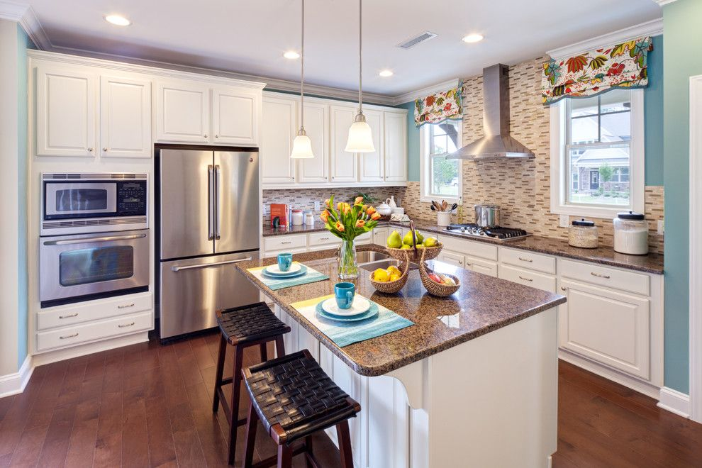 Home Depot Knightdale Nc for a  Kitchen with a Apex and Kitchens in New Homes Featured in for Sale by Builder Magazine in the Triangle by for Sale by Builder Magazine