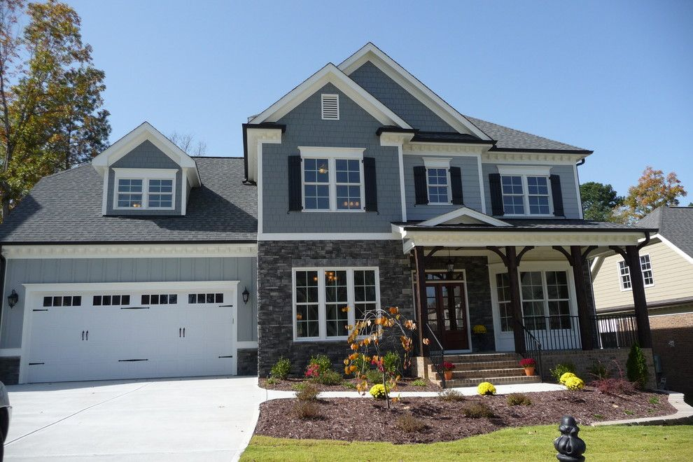 Home Depot Knightdale Nc for a Traditional Exterior with a Smithfield and Raleigh Nc Stone Photos New Homes by Brandco, Inc