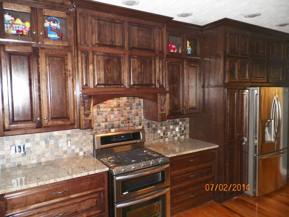 Home Depot Lebanon Tn For A Traditional Kitchen With A Tile Kitchen Back  Splash And Kitchen