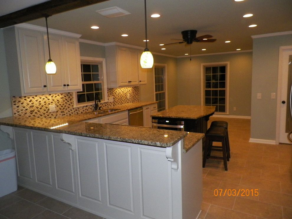 Home Depot Lebanon Tn for a Transitional Kitchen with a Ranch Kitchen and Horn Springs Lebanon Tn by A&b's Home Improvements
