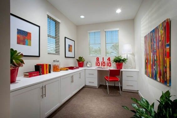 Home Depot Mission Viejo for a Contemporary Home Office with a New Community and Lyon Cabanas at Rancho Mission Viejo by William Lyon Homes