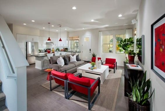 Home Depot Mission Viejo for a Contemporary Kitchen with a Modern Classics and Lyon Cabanas at Rancho Mission Viejo by William Lyon Homes