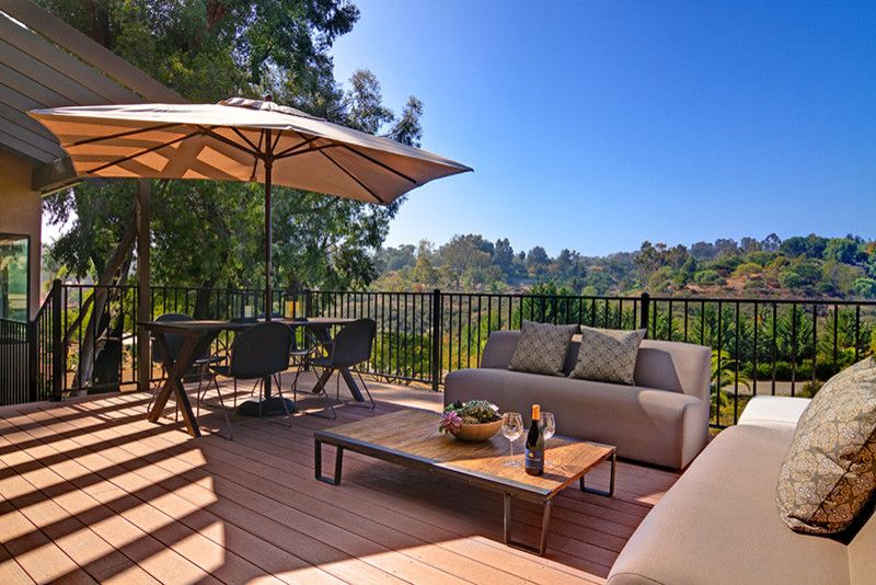 Home Depot Santa Cruz for a Contemporary Patio with a Contemporary and Rancho Santa Fe House by Shaw Coates