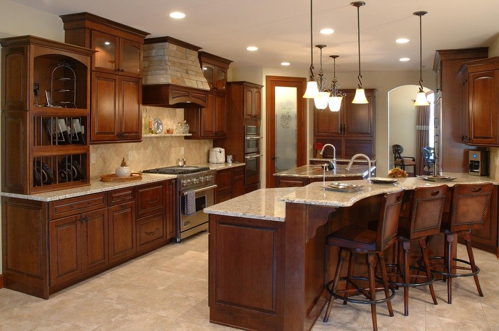 Home Depot Santa Cruz for a Traditional Kitchen with a Recessed Light and Custom Built Home by Otero Signature Homes
