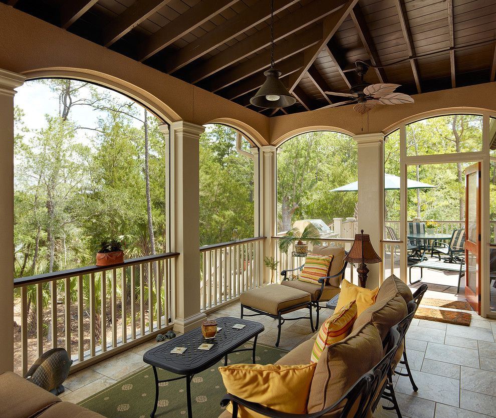 Home Depot Summerville Sc for a Traditional Porch with a Outdoor Furniture and 2013 Prism Award Finalist   North Creek Residence by Priester's Custom Contracting, Llc