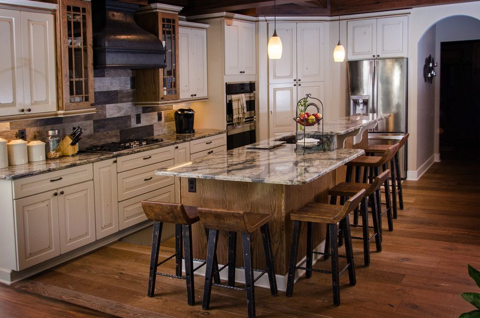 Homecrest Cabinets for a Rustic Kitchen with a Rustic and Gould Kitchen by Innovations by Vp