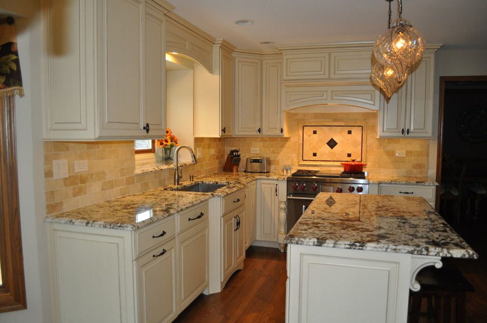 Homewerks for a Traditional Spaces with a Kohler Sink and Homer Glen Kitchen by Homewerks