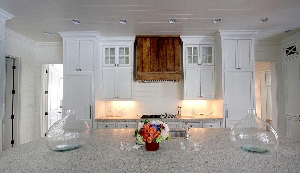 Honed Granite for a Traditional Kitchen with a Traditional and Northway by Castro Design Studio