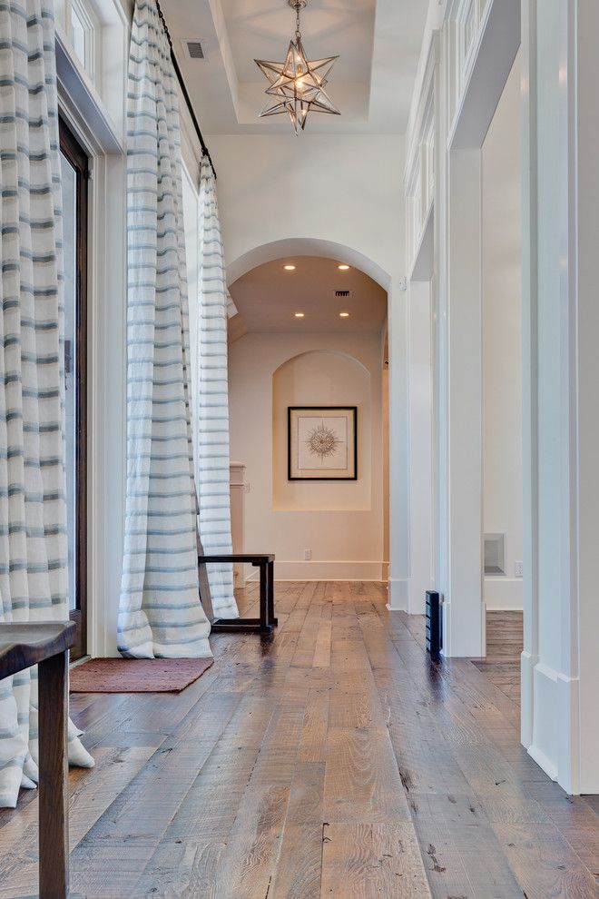 How to Clean Engineered Hardwood Floors for a Rustic Hall with a Wood Flooring and Custom Floors   Hallway by Feil Inc. Wood Flooring & Stairs
