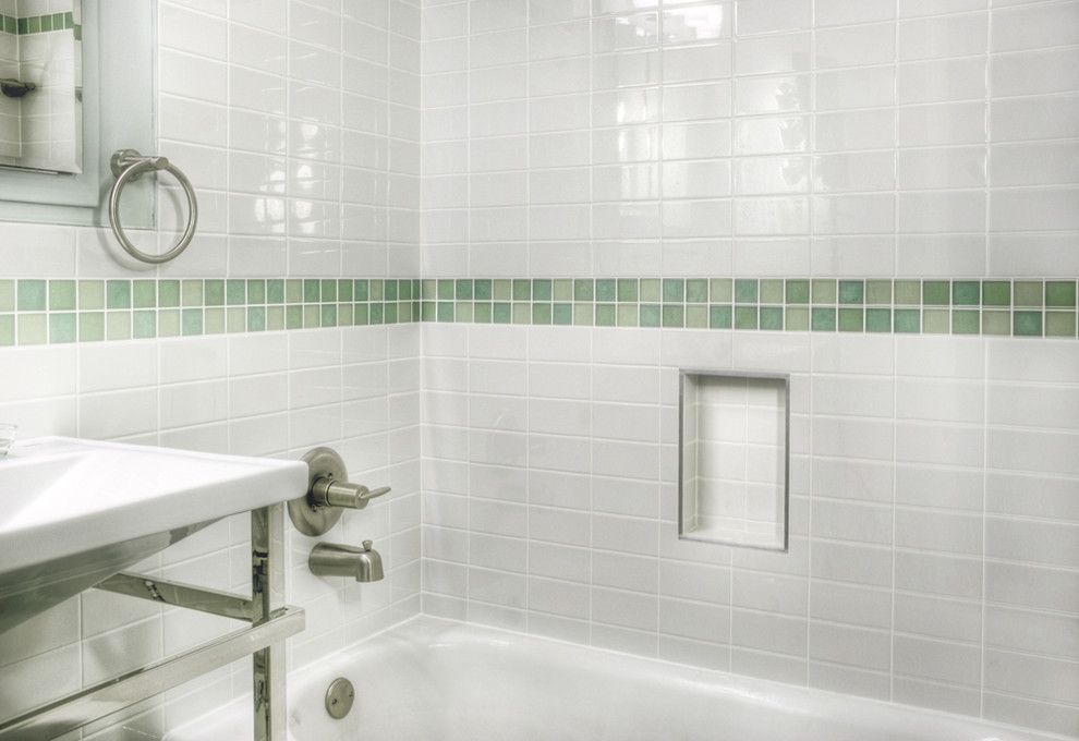 How to Clean Grout Lines for a Modern Bathroom with a Modern and Society Hill Bathrooms by Buckminster Green Llc