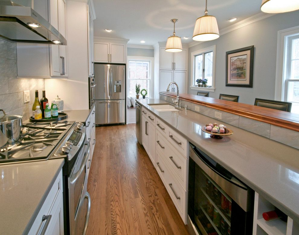 How to Clean Quartz Countertops for a Traditional Kitchen with a Ge and Ardmore Kitchen by Blue Hot Design