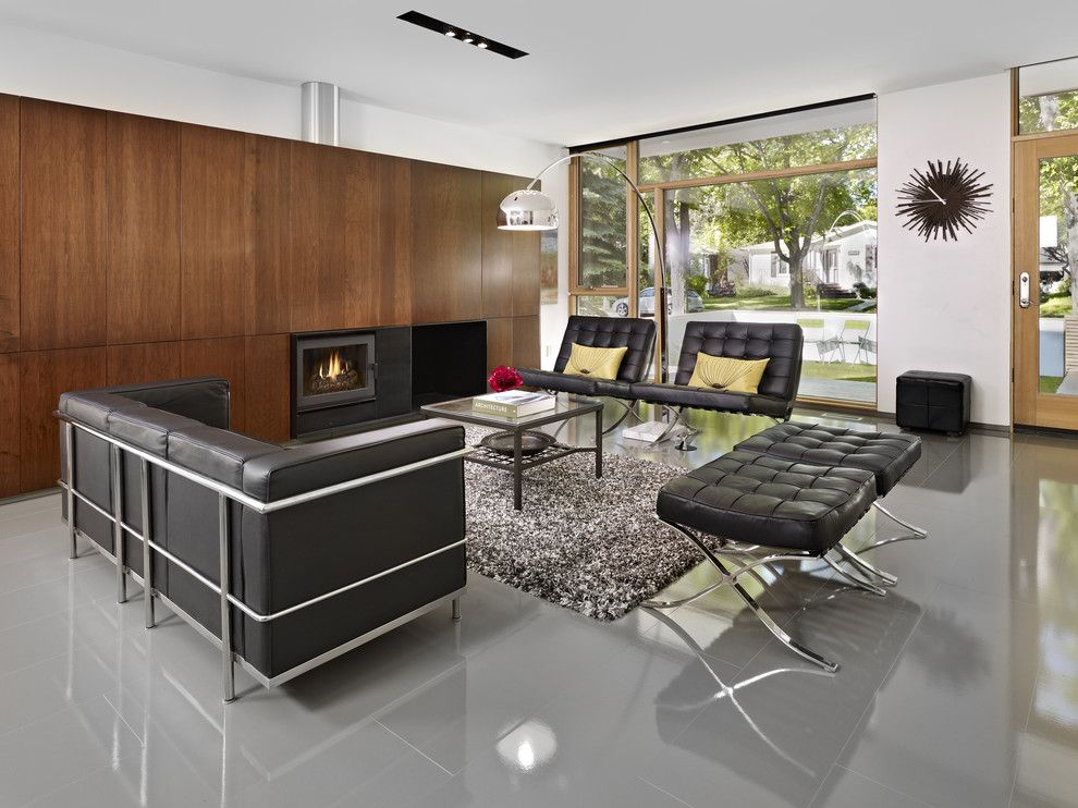 How to Get Rid of Cigarette Smell in House for a Modern Living Room with a Wood Accent Wall and Lg House   Living Room Interior by Thirdstone Inc. [^]