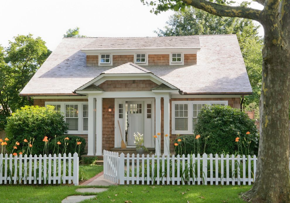 How to Get Rid of Cigarette Smell in House for a Traditional Exterior with a Covered Patio and Hamptons Cottage by Wettling Architects