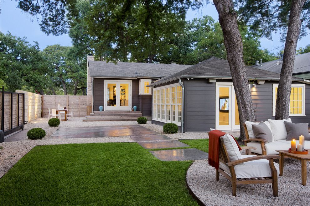 How to Get Rid of Cigarette Smell in House for a Traditional Landscape with a French Doors and Lafayette Residence by Texas Construction Company
