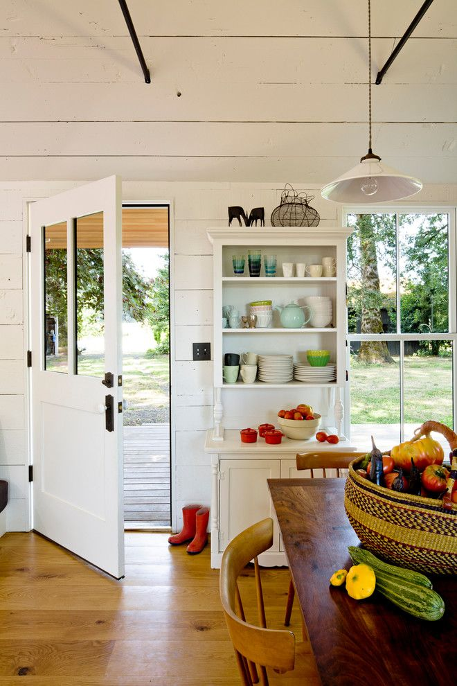 How to Get Rid of Fruit Flies in the House for a Farmhouse Kitchen with a Painted Wood and Tiny House by Jessica Helgerson Interior Design