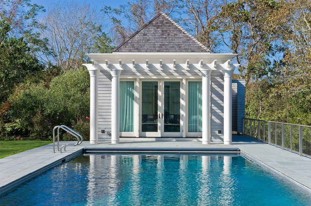 How to Get Rid of Fruit Flies in the House for a Traditional Pool with a Shingle Roof and Cotuit Bay Residence by Nicholaeff Architecture + Design