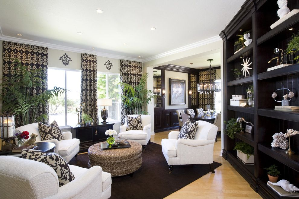 How to Get Rid of Mosquitos for a Traditional Family Room with a Family Friendly and Living Room Dining Room with Modern / Traditional Styling by Robeson Design