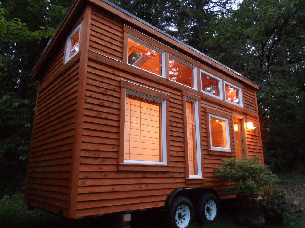 How to Get Rid of Smoke Smell in House for a Asian Exterior with a Mobile Home and Tiny Tea House by Oregon Cottage Company