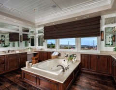 How to Install Wainscoting for a  Bathroom with a  and Southern California by Ferguson Bath, Kitchen & Lighting Gallery