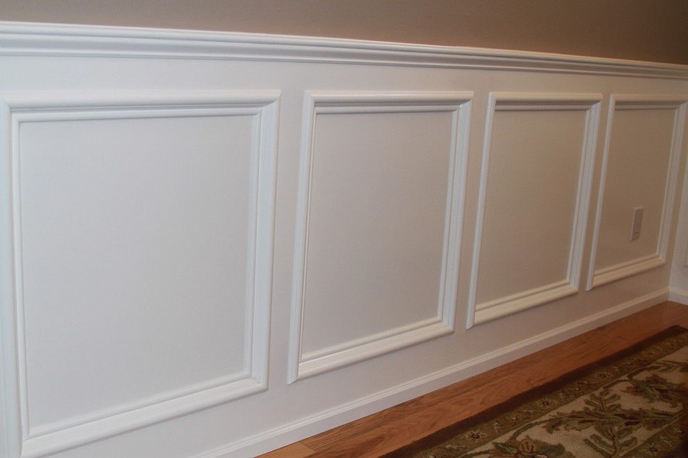 How to Install Wainscoting for a Traditional Spaces with a Craftsman and Wainscot by Tflarkin, Inc