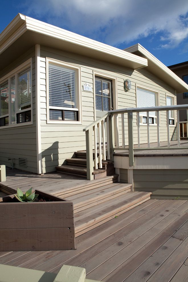 How to Patch Drywall for a Contemporary Deck with a Weather Resistant and Ready for the Weather by O'shea Construction
