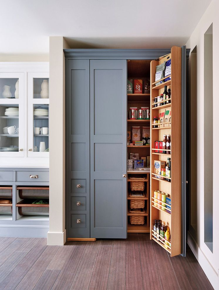 How to Repaint Kitchen Cabinets for a Traditional Kitchen with a Traditional Kitchen and Kitchens by Mylands