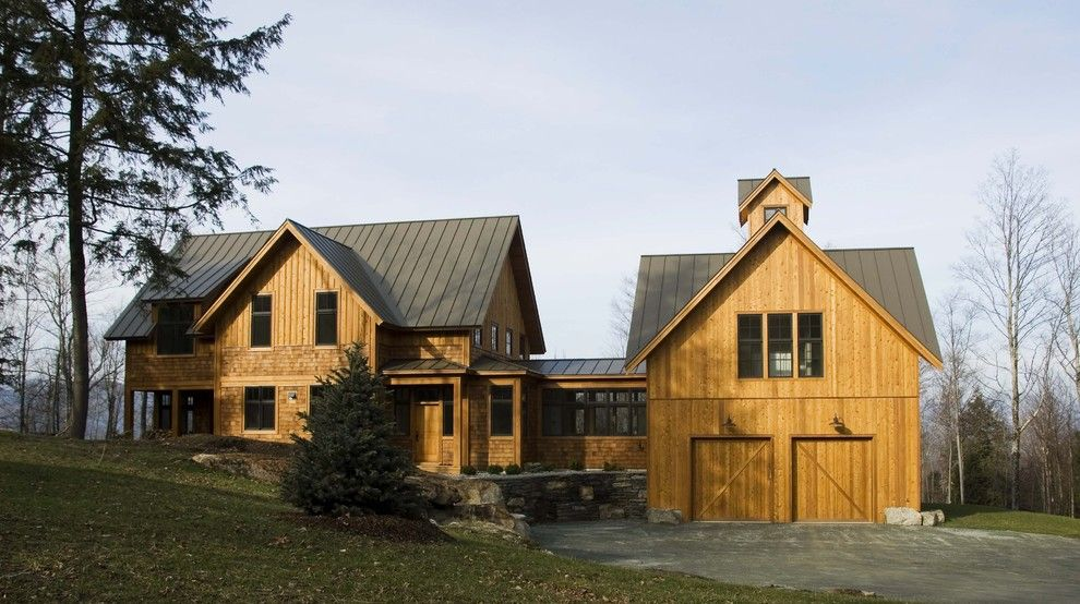 Hurricane Proof House for a Farmhouse Exterior with a Lantern and Points North by Birdseye Design