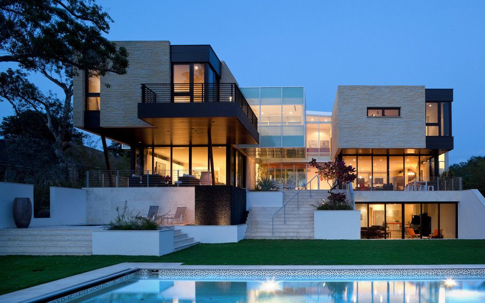Hurricane Proof House for a Modern Exterior with a Sustainable and Photos by Hughesumbanhowar Architects