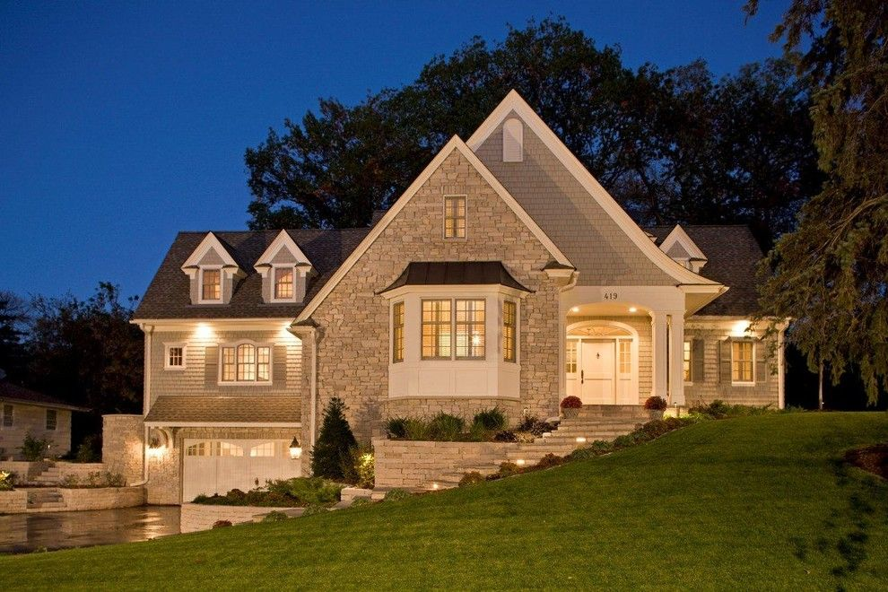 Hurricane Proof House for a Traditional Exterior with a Entry and Cottage Exterior by Stonewood, Llc