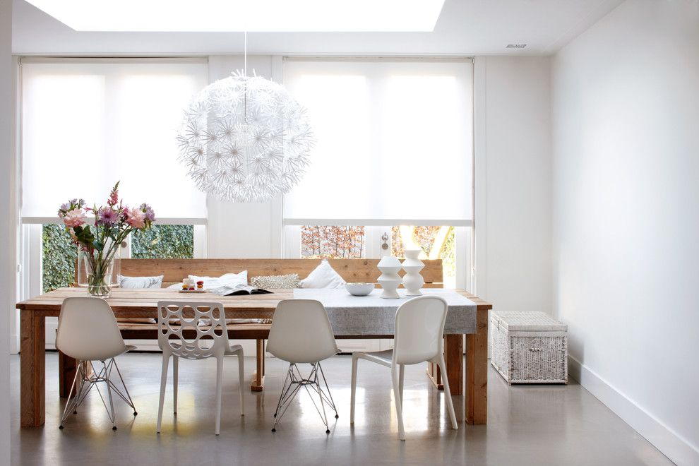 Ikea Akurum for a Contemporary Dining Room with a Dining Room and Contemporary Dining Room by Budget Blinds