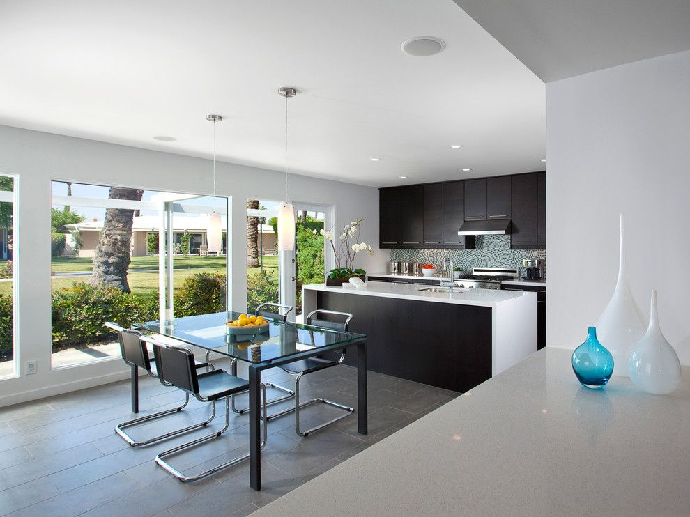 Ikea Akurum for a Contemporary Kitchen with a Contemporary and Los Pueblos Kitchen Design by Robert Frank Design