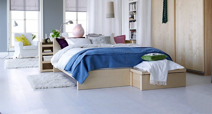 Ikea Bedroom Ideas for a Modern Bedroom with a Bedding and Ikea Bedroom by Ikea