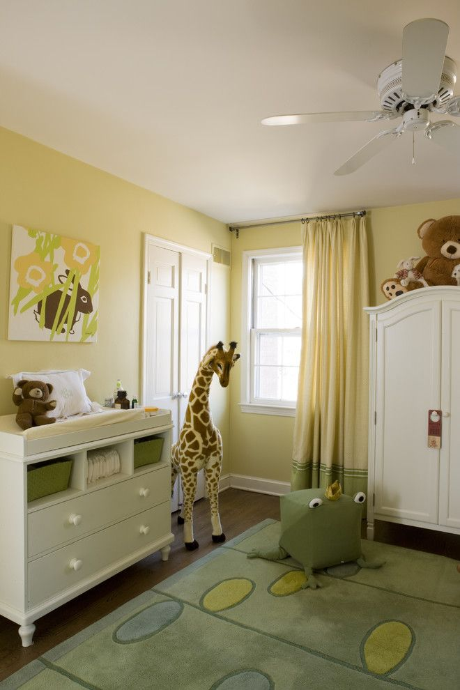 Ikea Changing Table for a Transitional Nursery with a Ideas for Baby Boy Nursery and Georgetown Residence by Liz Levin Interiors
