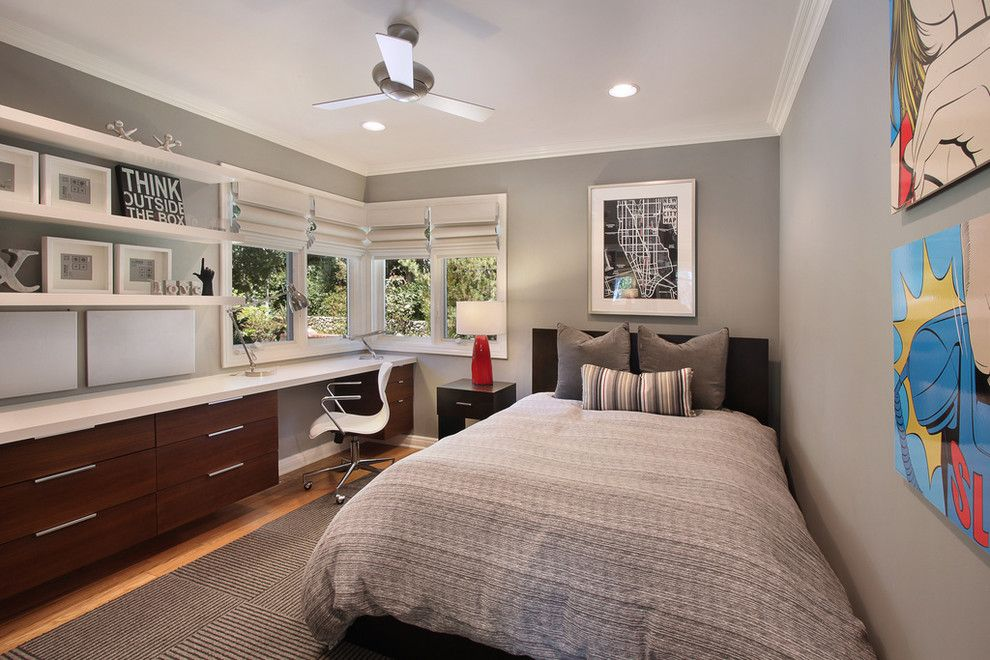 Ikea College Park for a Contemporary Bedroom with a Clean and Villa Park Home by Cathy Morehead