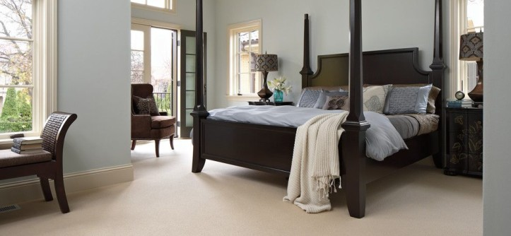 Ikea Hemnes Bed for a Traditional Bedroom with a Carpet and Bedroom by Carpet One Floor & Home