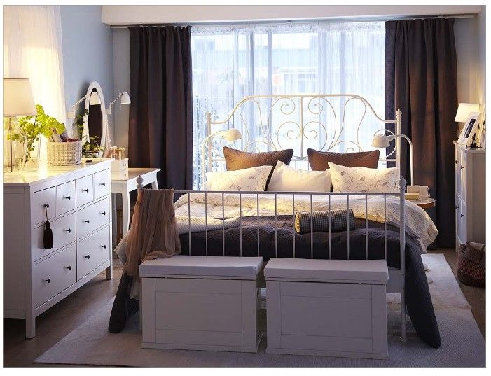 Ikea Hemnes for a Traditional Bedroom with a Traditional and Ikea Bedroom Ideas 2010 by Brelija