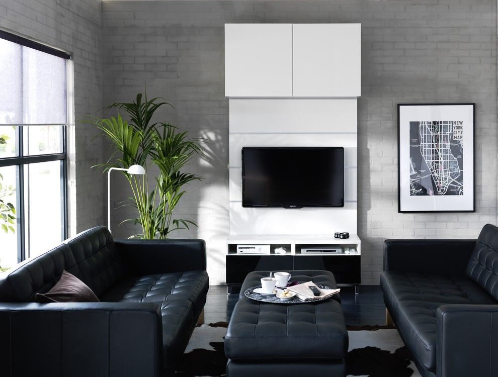 Ikea Karlstad for a Modern Living Room with a Modern and Ikea Living Room by Ikea