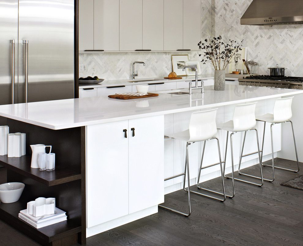 Ikea Kitchen Planner for a Modern Kitchen with a Breakfast Bar and Elegant White Ikea Kitchen by Croma Express Kitchens