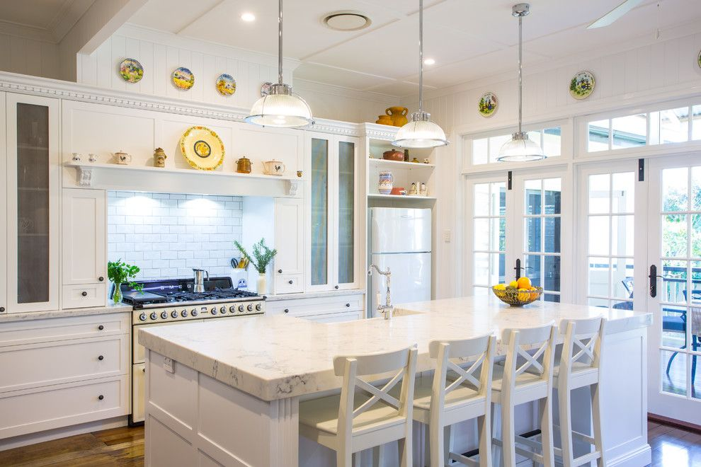 Ikea Kitchen Planner for a Traditional Kitchen with a Indoor Outdoor Living and Hampton Style Kitchen   Sherwood by Makings of Fine Kitchens & Bathrooms