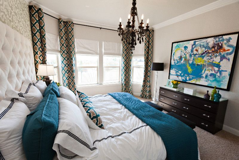 Ikea Malm for a Eclectic Bedroom with a Eclectic and Living Room Chic by Abbe Fenimore Studio Ten 25