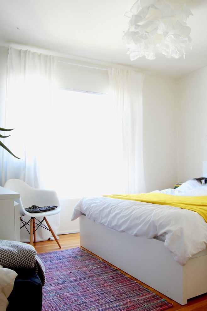 Ikea Malm for a Eclectic Bedroom with a Eclectic and My Houzz: Magee Home by Corynne Pless