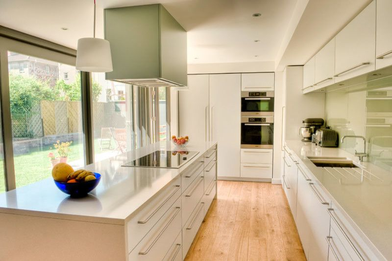 Ikea Microwave for a Contemporary Kitchen with a Contemporary and 7fr by Moon Design + Build