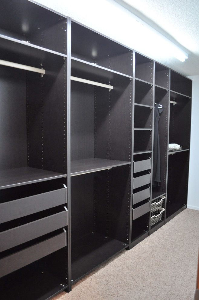 Ikea Pax System for a  Spaces with a  and Closets by Fung